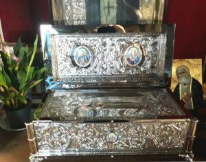 Noua Raclă cu Moaștele Sfântului Serafim de Sarov
