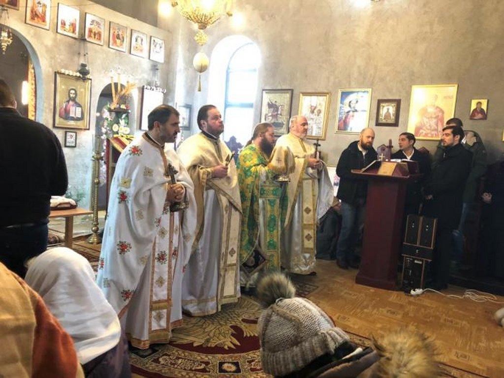 Hram Sf Serafim 2 Ianuarie 2018